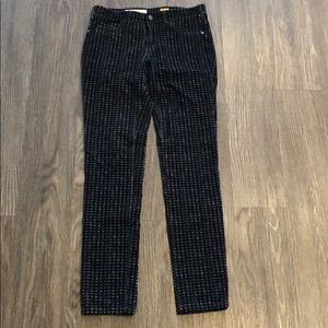 Anthro corduroy jeggings